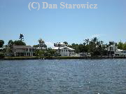 Bayfront homes, mid-island