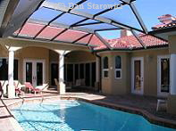 Courtyard home in SW Cape Coral, near Cape Harbour.   (clicking on the image will take you to the photo collection page)