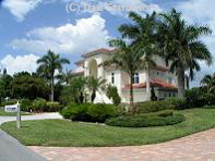 Example of a nice Gulf access home on Sanibel Island.   (clicking on the image will take you to the photo collection page)