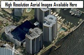 Downtown Fort Myers, Florida aerial images, courtesy Microsoft Bing's birds eye views (opens in a pop-up window)
