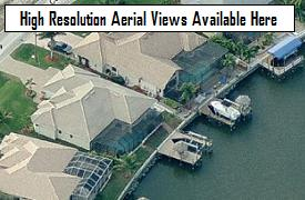 NW Cape Coral aerial images, courtesy Microsoft Bing's birds eye views (opens in a pop-up window)