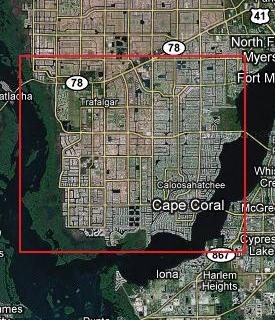 Clicking on this image will display all Southwest & Southeast Cape Coral, Florida Gulf access listings